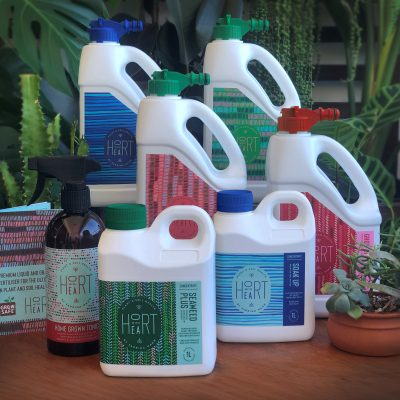 Liquid fertiliser and wetting agent